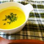 無添加の手作りかぼちゃのスープ