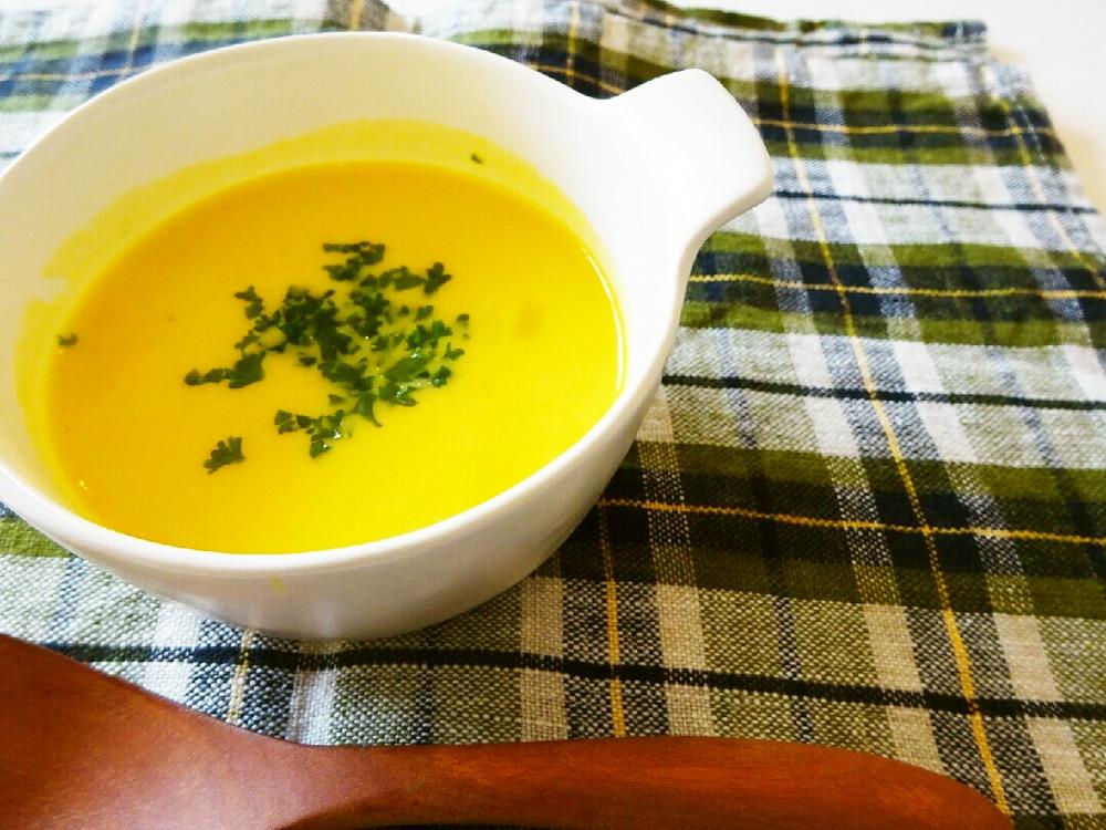 無添加の手作りかぼちゃのスープ♪