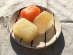 玉ねぎとにんじんと和風コンソメスープのうどん