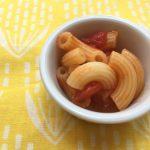 野菜たっぷりトマトソースのマカロニパスタ