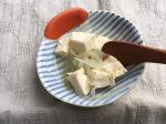 豆腐とキャベツ・たまねぎのだし煮