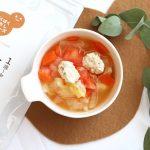 【離乳食完了期】鶏だんごとトマトのスープ